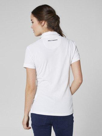 Polo damskie HELLY HANSEN W CREWLINE 53049 001 white